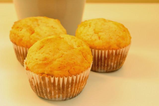 cytrynowe muffiny