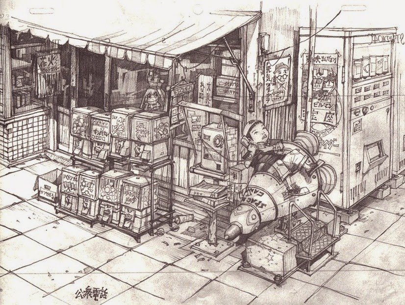 02-Teikoku-Shounen-Architectural-Drawings-in-Color-and-Black-and-White-www-designstack-co