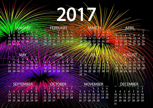 2017 New Year Calendar Free Download - Happy New Year 2017 | Happy ...