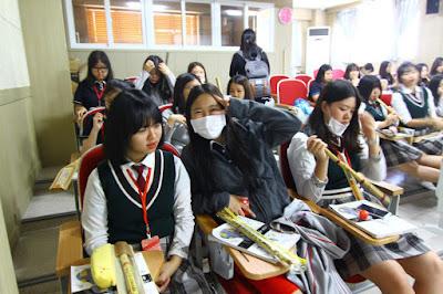 tempat les bahasa korea