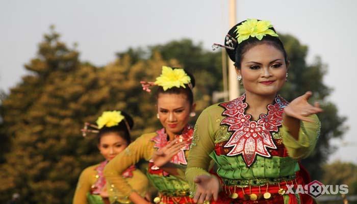 Gambar Tari Rancak Denok, Tarian Tradisional Jawa Tengah