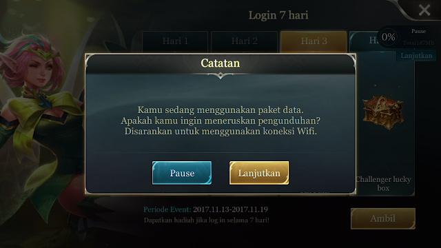 File Hemat Game AOV Cuma 100MBan (AOV Small APK)