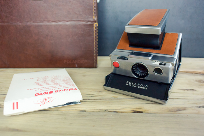 Polaroid SX 70 - Impossible Film, troubleshooting and repair