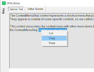 C# & VB.NET Context Menu Right Click Copy, Cut, Paste Functions