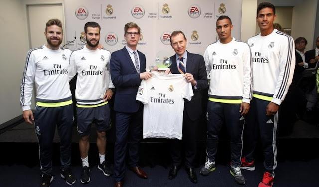 EA Sports, nuevo patrocinador oficial del Real Madrid
