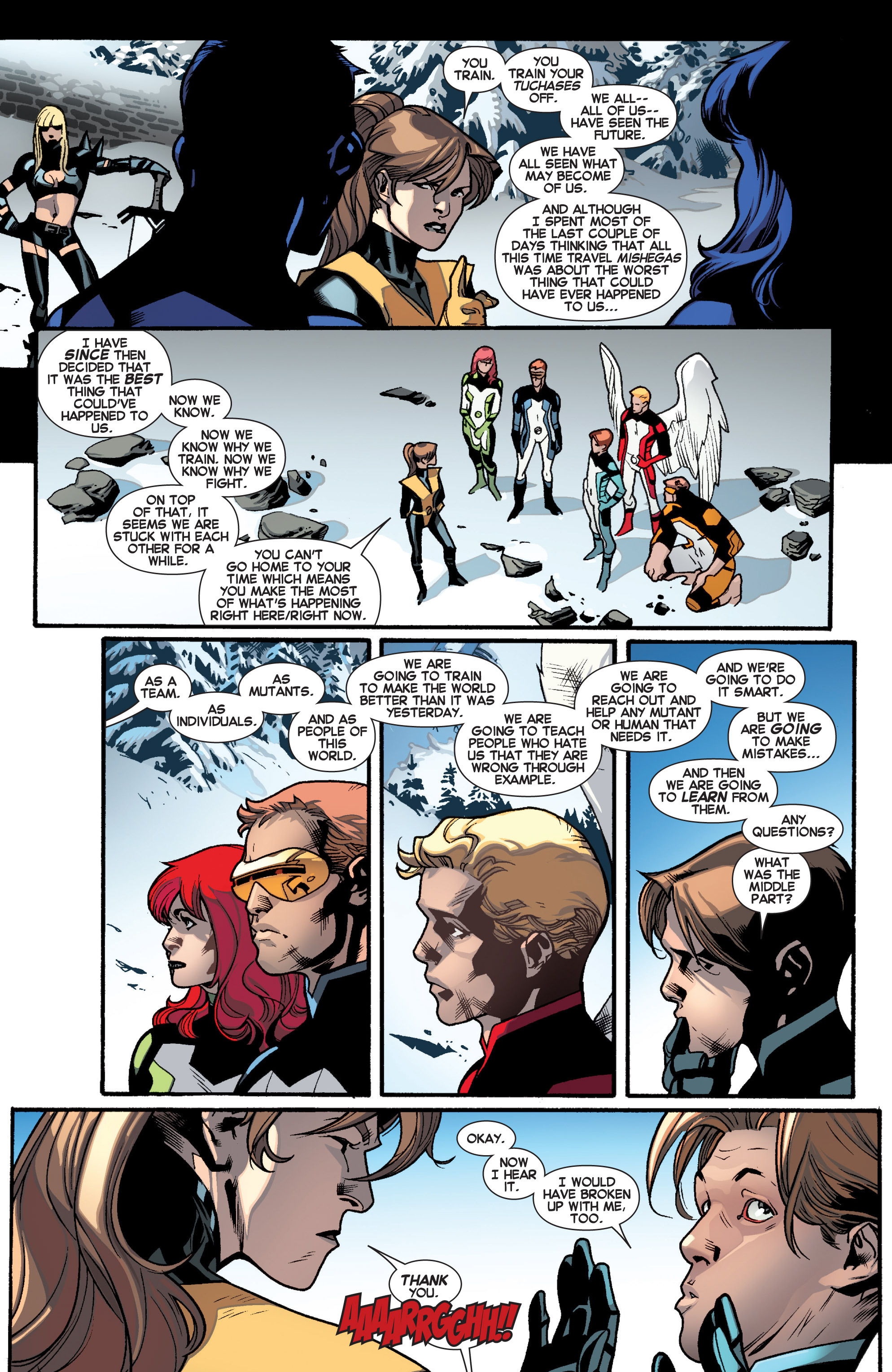 Read online All-New X-Men (2013) comic -  Issue # _Special - All-Different - 17