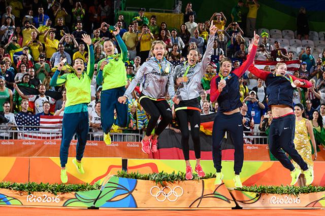 Ágatha/Bárbara conquistam prata nos Jogos Olímpicos do Rio