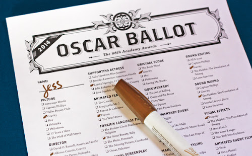 Printable Oscar ballot download