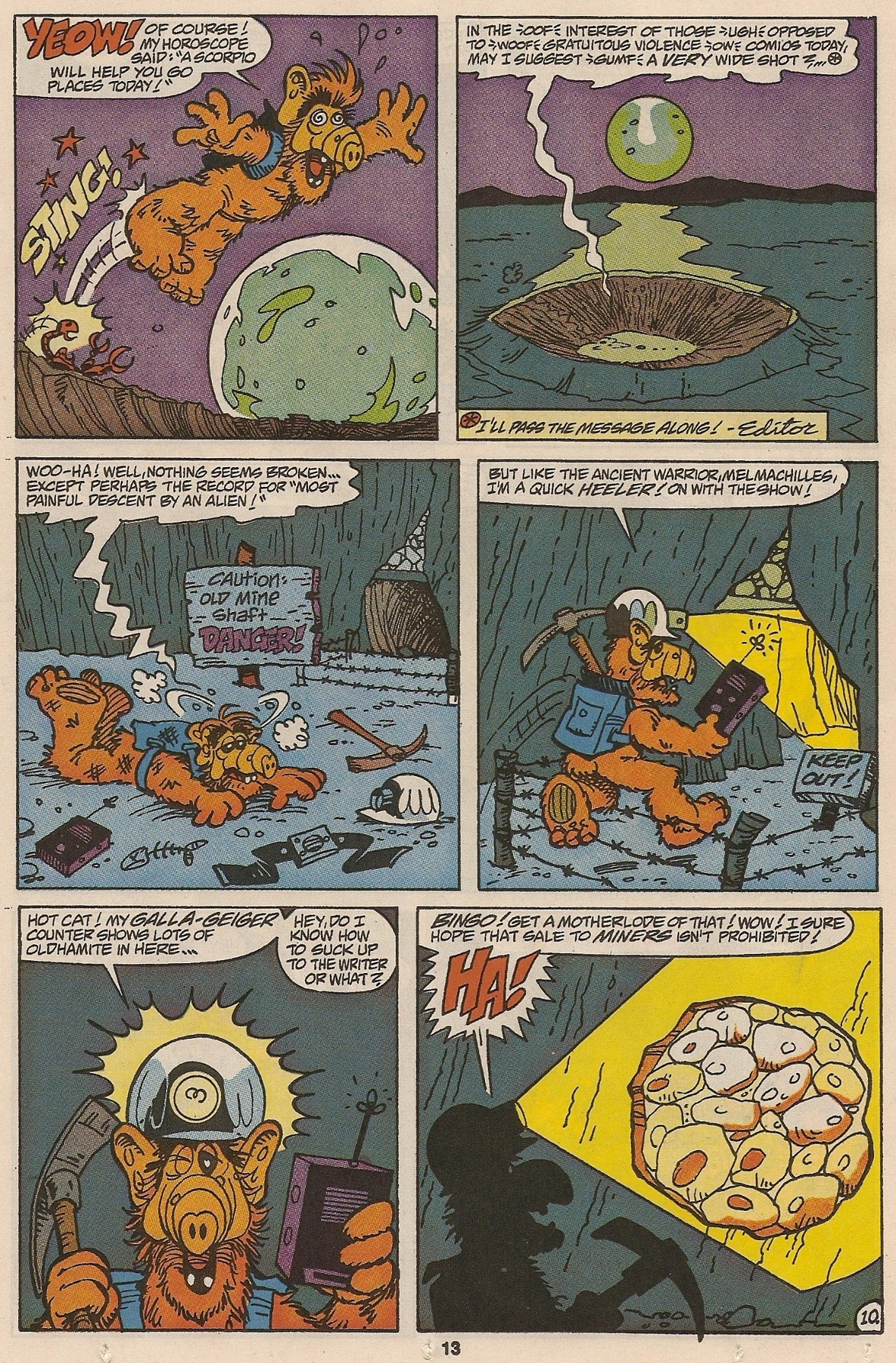Read online ALF comic -  Issue #47 - 15