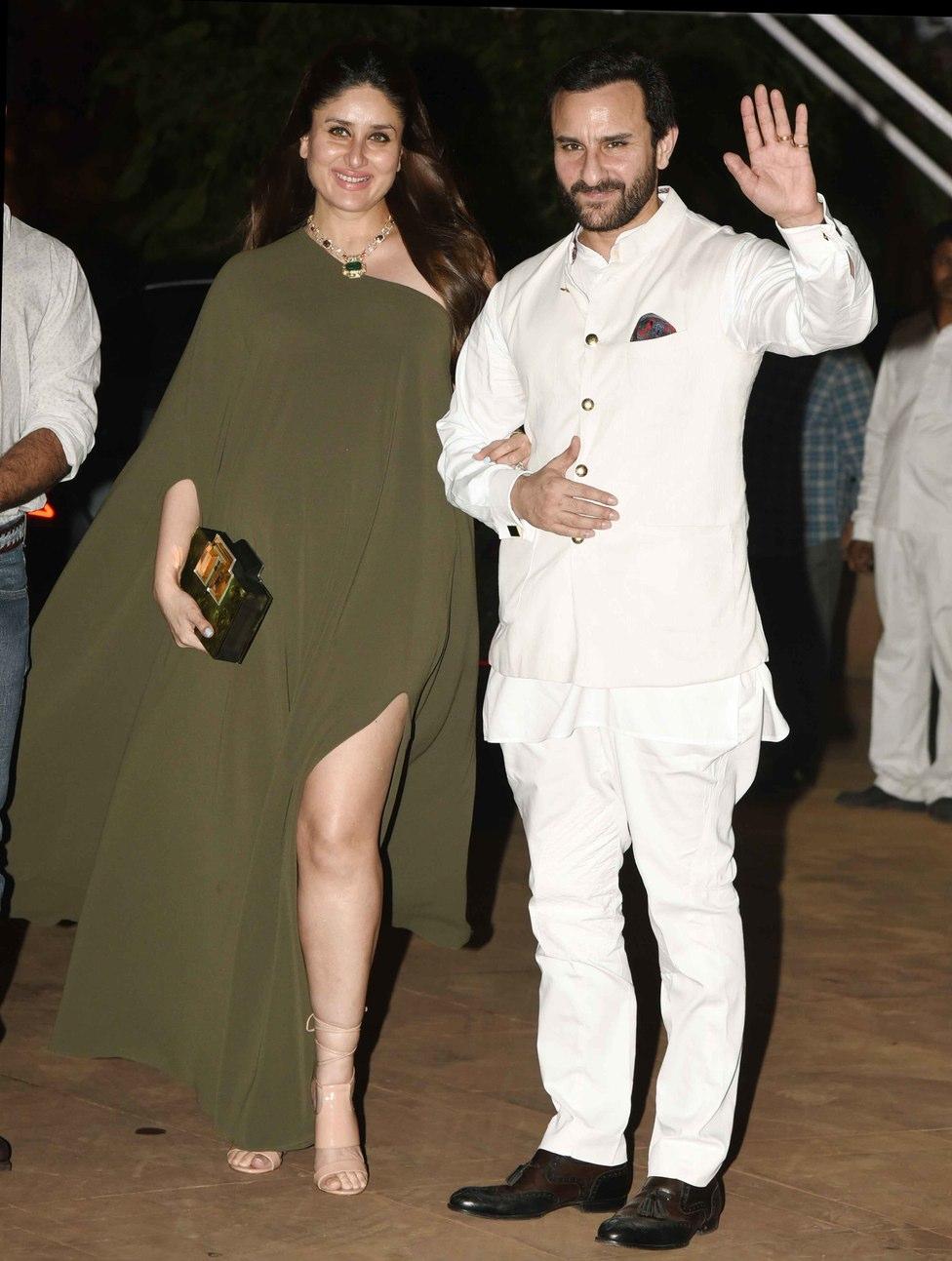 Pregnant Kareena Kapoor Saif Ali Khan