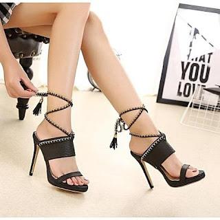 5c3efec572d Women s High Thin Heels Shoes Platform Sandals Pumps Sexy Summer Ladies  Footwear