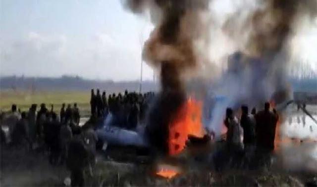 Big Breaking: भारतीय वायुसेना का लड़ाकू विमान क्रैश, दो पायलट शहीद