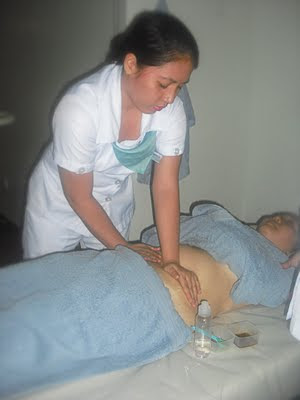 slimming treatment massage