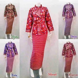 Model Baju Batik Modern Pramugari Terbaru