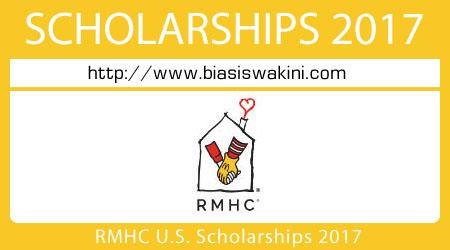 RMHC U.S. Scholarships 2017