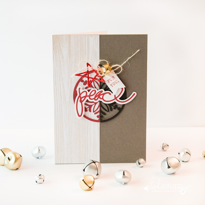 @heidiswapp Peace To You Card by @createoften