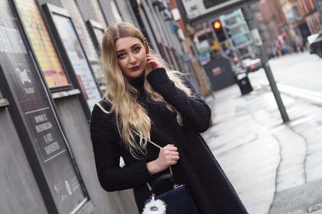 how to style chunky knit winter