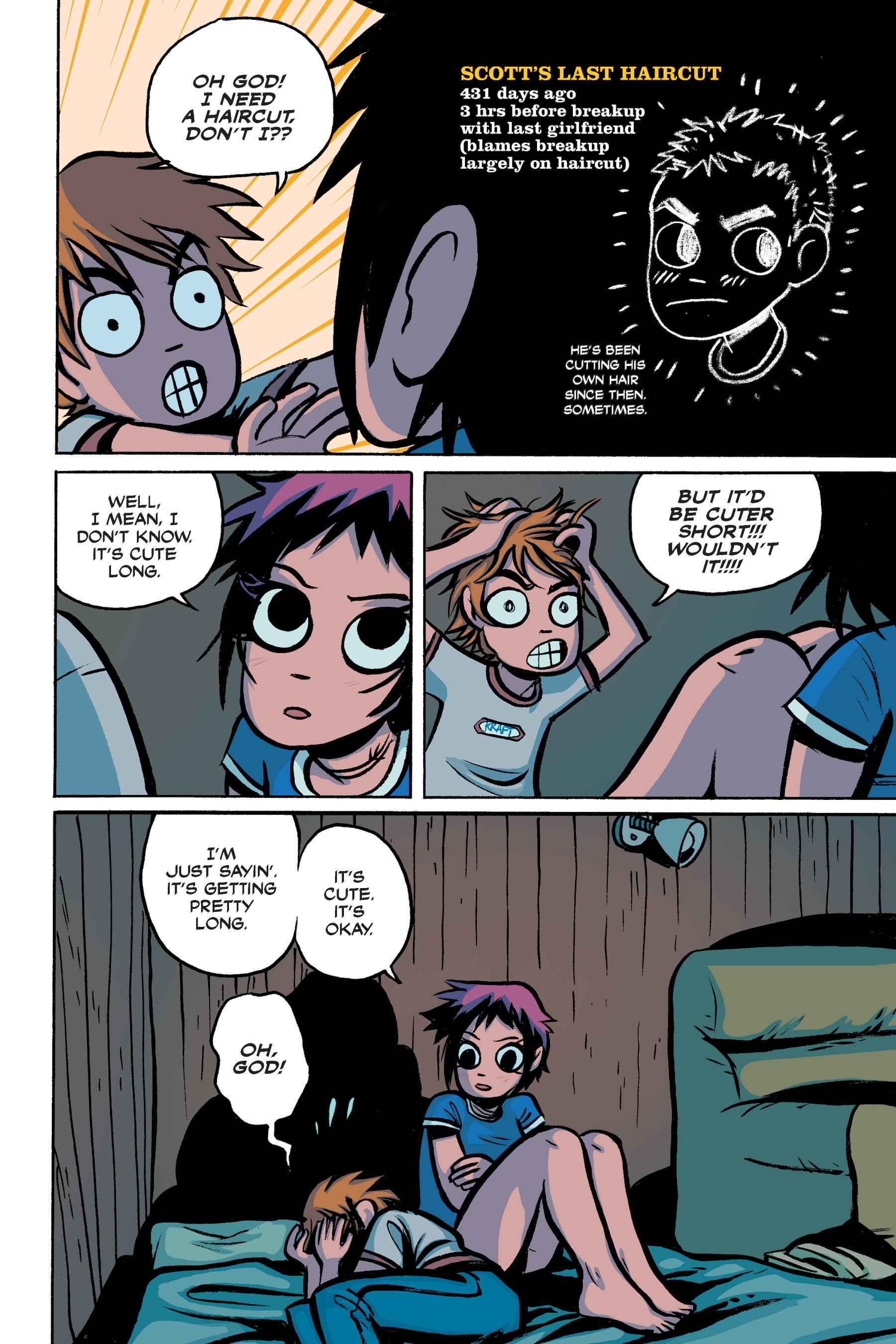 Read online Scott Pilgrim comic -  Issue #2 - 58