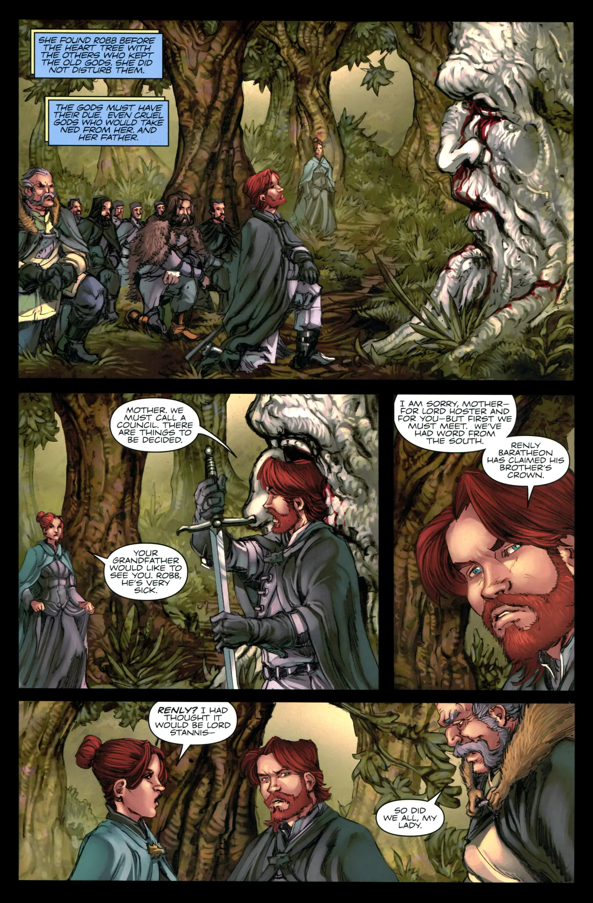 Read online A Game Of Thrones comic -  Issue #24 - 17