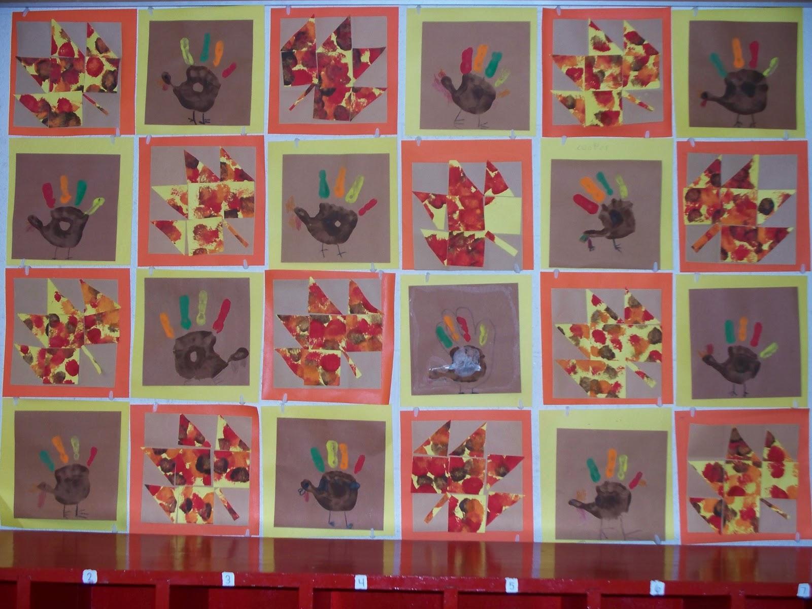 Mrs. Straight's Kindergarten Korner: November Art Projects