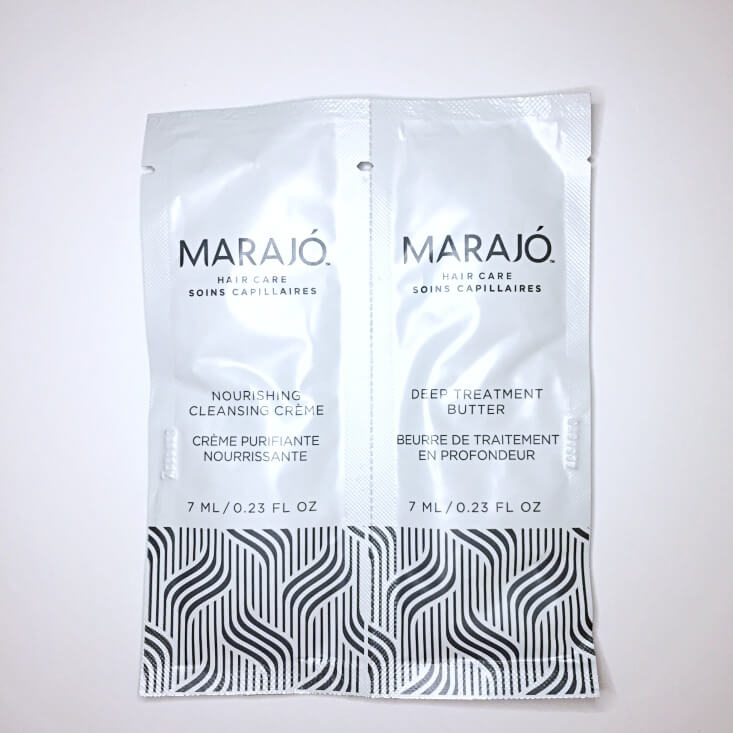 Marajo Deep Treatment Butter and Nourishing Cleansing Creme