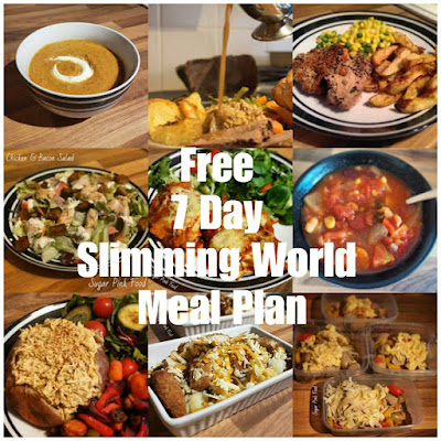 Free 7 Day Slimming World Meal Plan