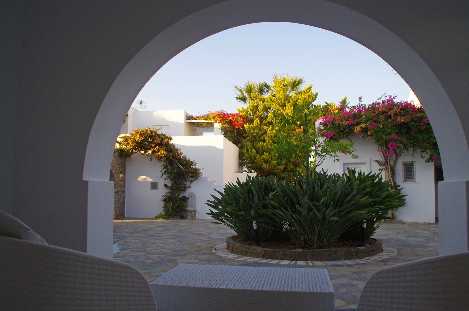 Astir of Paros Courtyard Garden