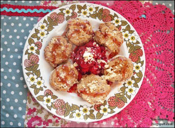 angielskie placuszki bez cukru muffinki wegańskie
