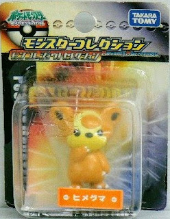 Teddiursa figure Tomy Monster Collection Johto selection series