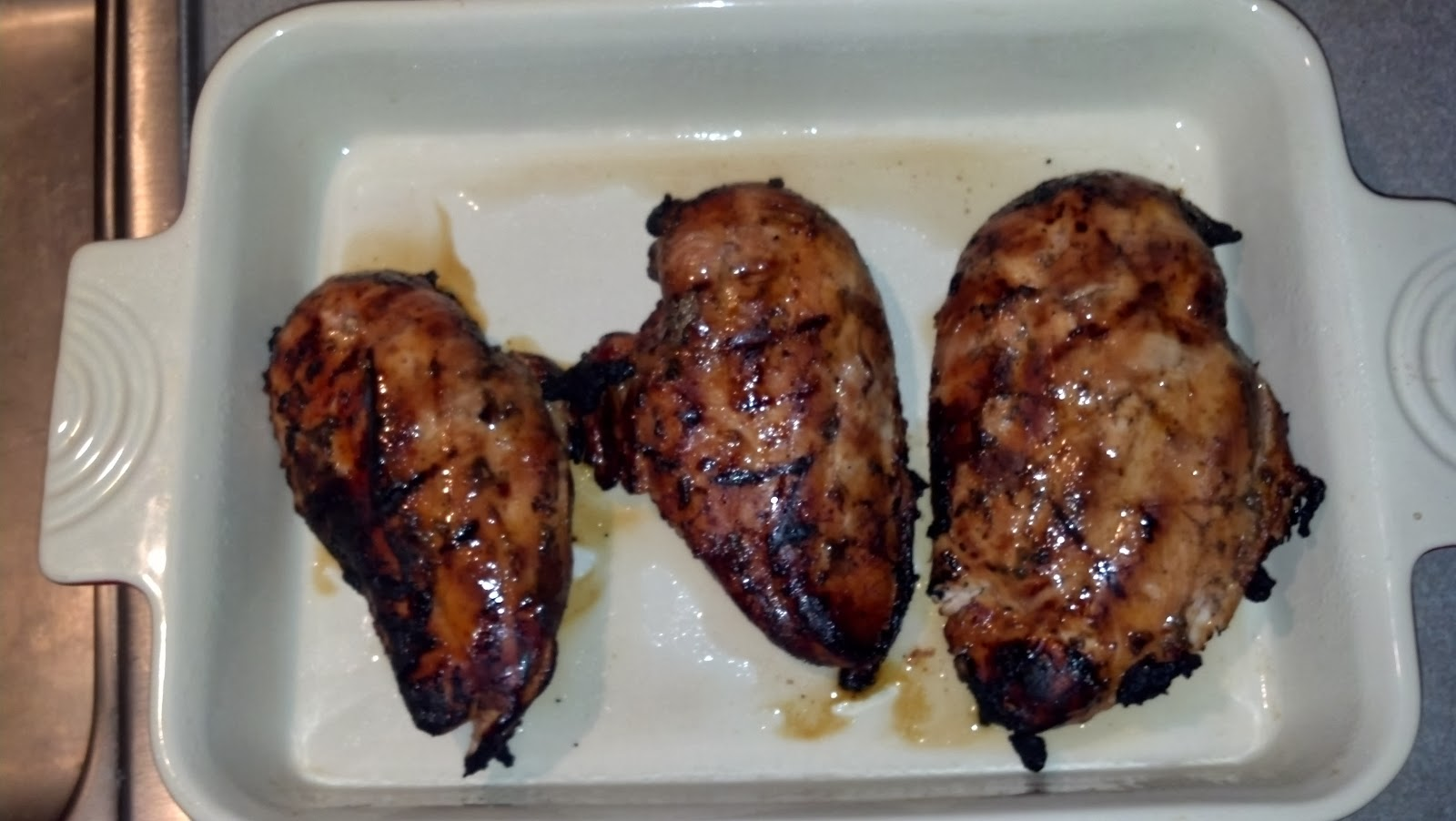 breast temp chicken grilled