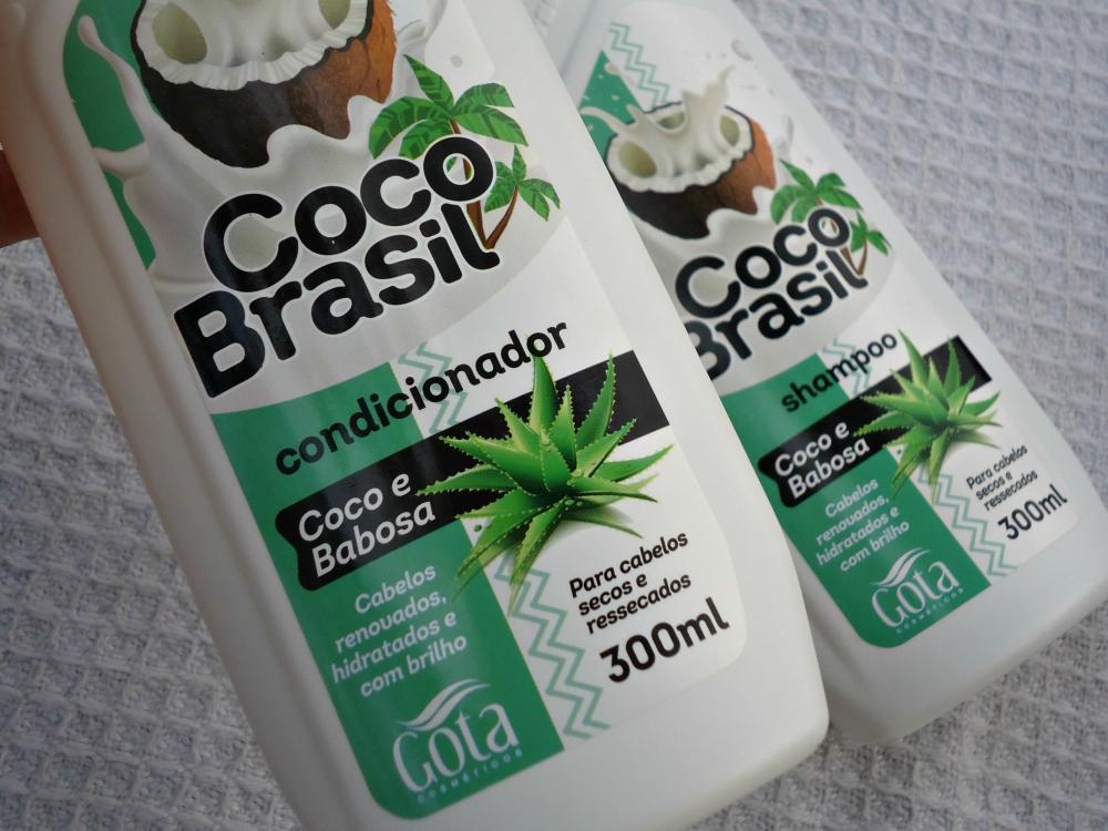 Condicionador Coco e Babosa da Gota Dourada