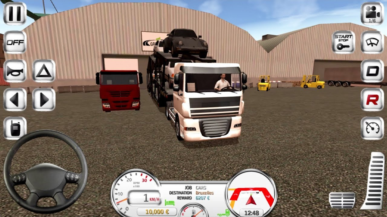 Apk Mod Euro Truck Driver Simulator Mod 2 0 0 For Android Wangame En
