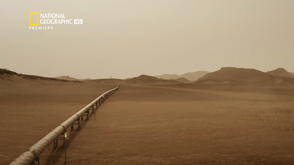 National Geographic's MARS - episode 1, season 2 (pipeline)