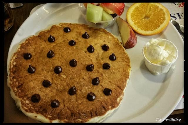 Pancakes at Paula's Pancake House in Solvang.