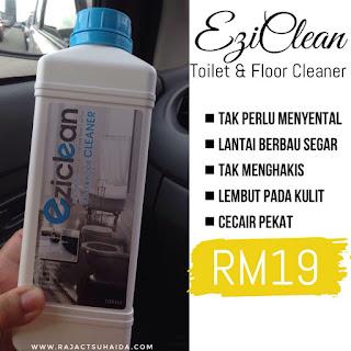 eziclean toilet & floor cleaner
