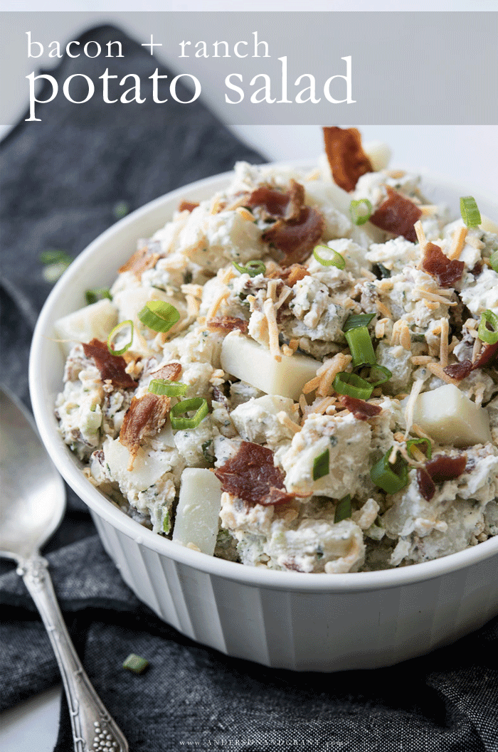 Bacon and Ranch Potato Salad