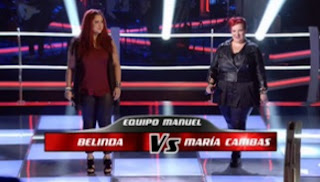 Belinda y María: You Shook Me All Night Long | La Voz 2016 Batallas