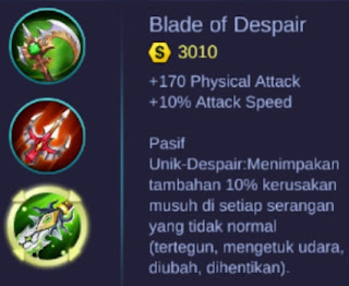 Build Item Terbaik Hero Layla - Mobile Legends