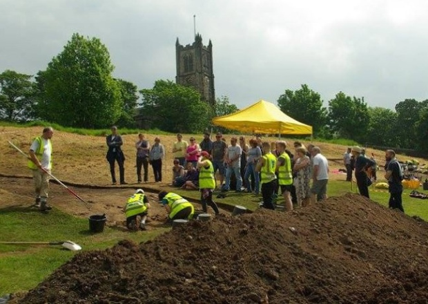 Evidence of Roman fort uncovered near Britain's Lancaster Castle