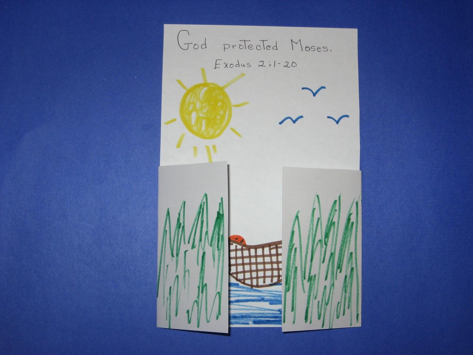 Free Sunday School Crafts Moses