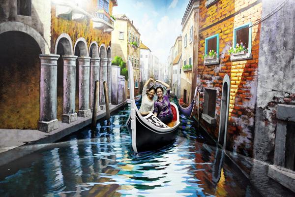 Wisata 3D Art Kota Lama Semarang - Old City 3D