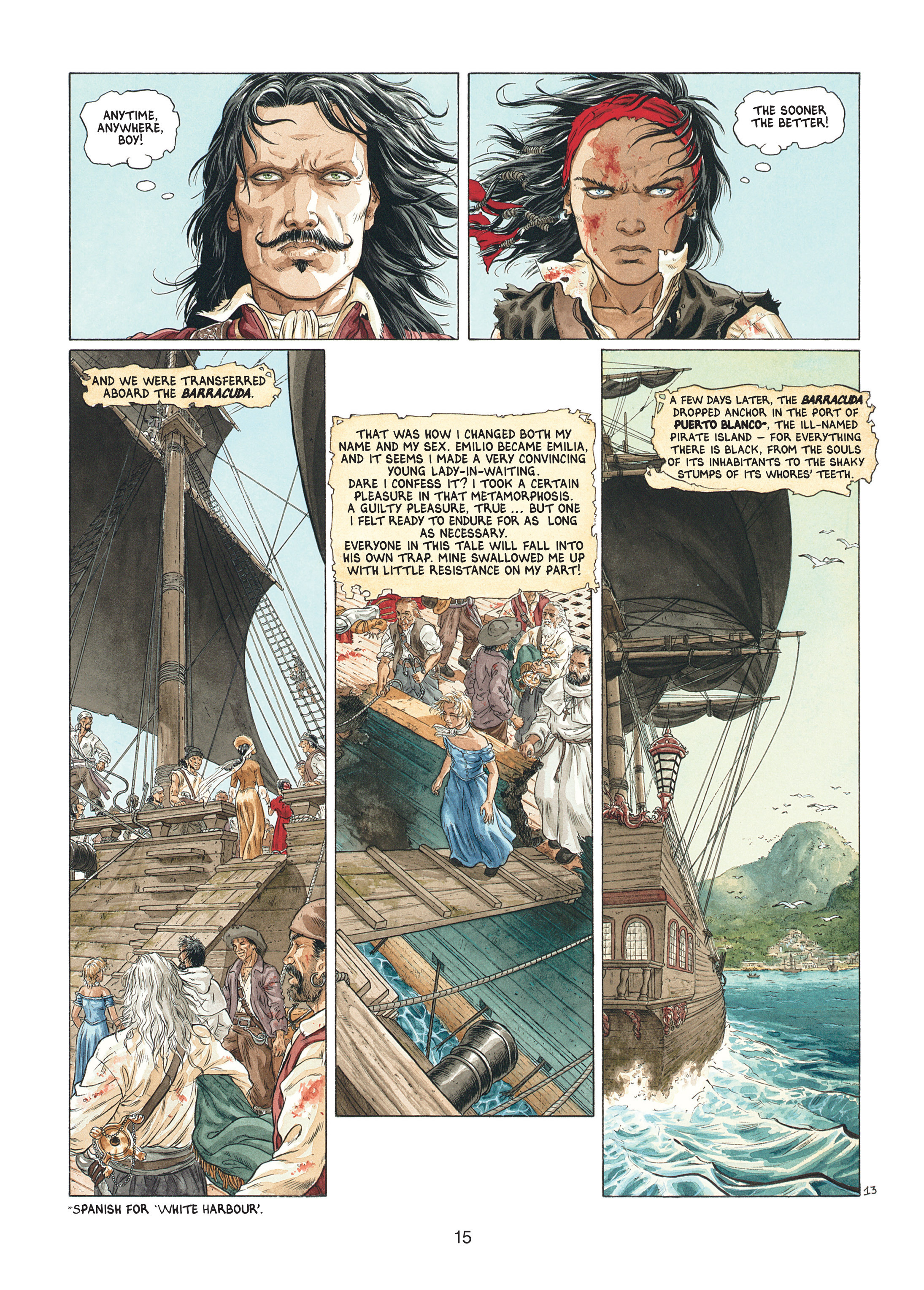 Read online Barracuda comic -  Issue #1 - 15
