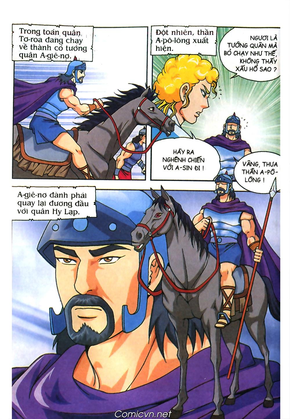 Thần Thoại Hy Lạp Màu - Chapter 61: So tài của hai vị tướng - Pic 5