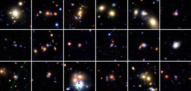Se utilizan cientos de miles de imágenes tomadas por WISE