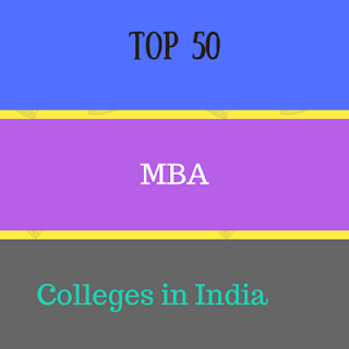Top 50 MBA colleges in India