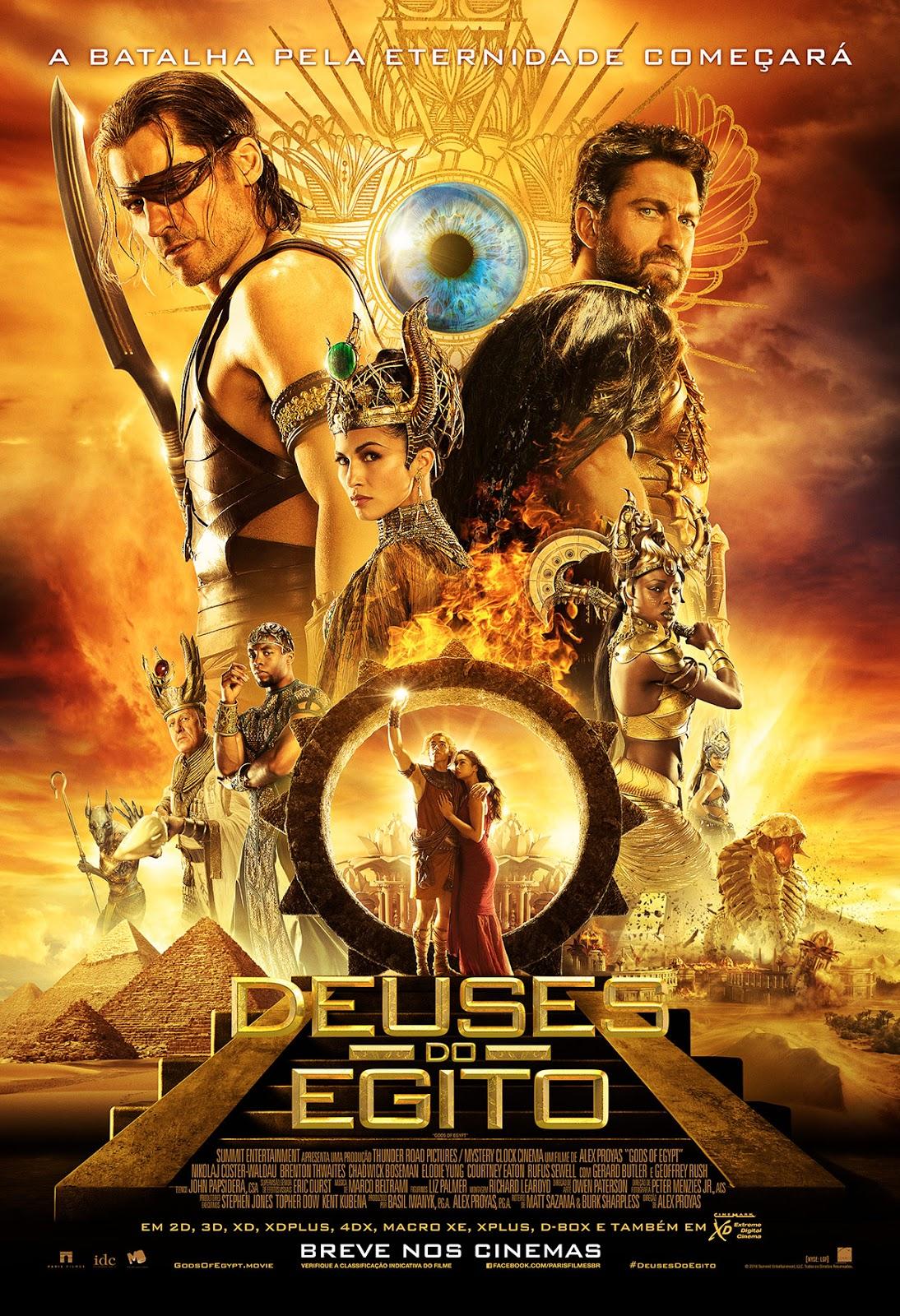Deuses do Egito Torrent Dublado (2016)