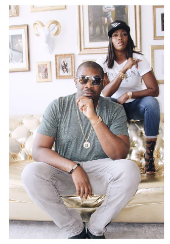 Don Jazzy congratulates Tiwa Savage on her Roc Management deal