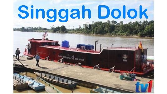 Singgah Dolok TV1 sebuah rancangan travelog terbitan RTM Sabah dan RTM Sarawak, gambar singgah dolok tv1, bot klinik bergerak 1 malaysia, bot kb1m