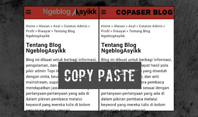article copy paste content