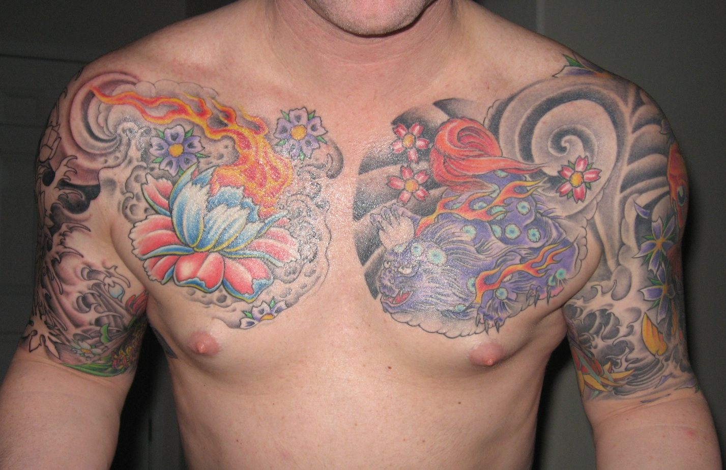 Tattoos For Men On Chest Pictures